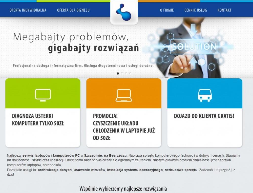 Serwis komputerów Szczecin Łukasz Olszowy Technika Komputerowa